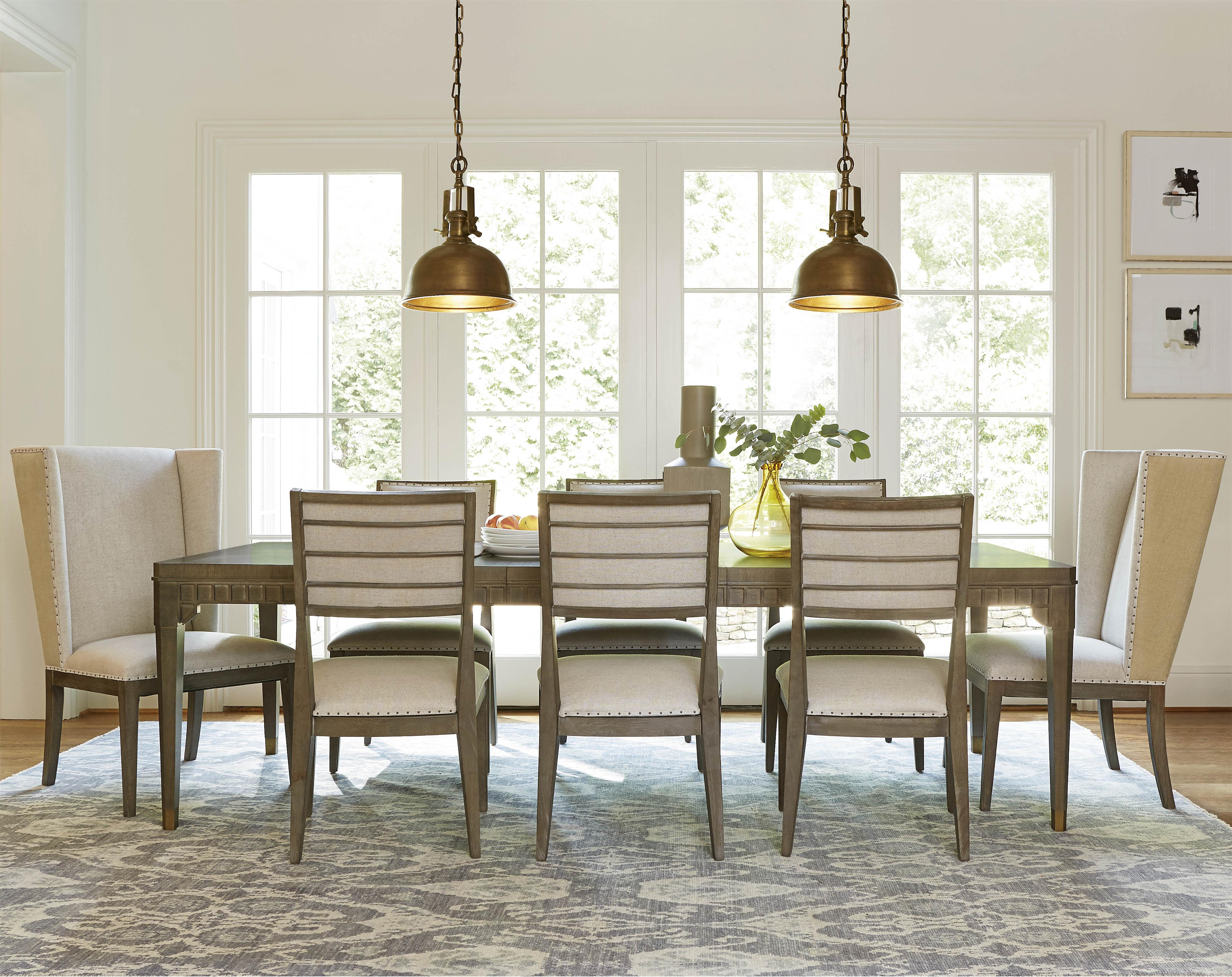 Universal furniture formal dining room sets - Universal Playlist 9 Piece Dining Set Item Number 507653 2x38 6x34