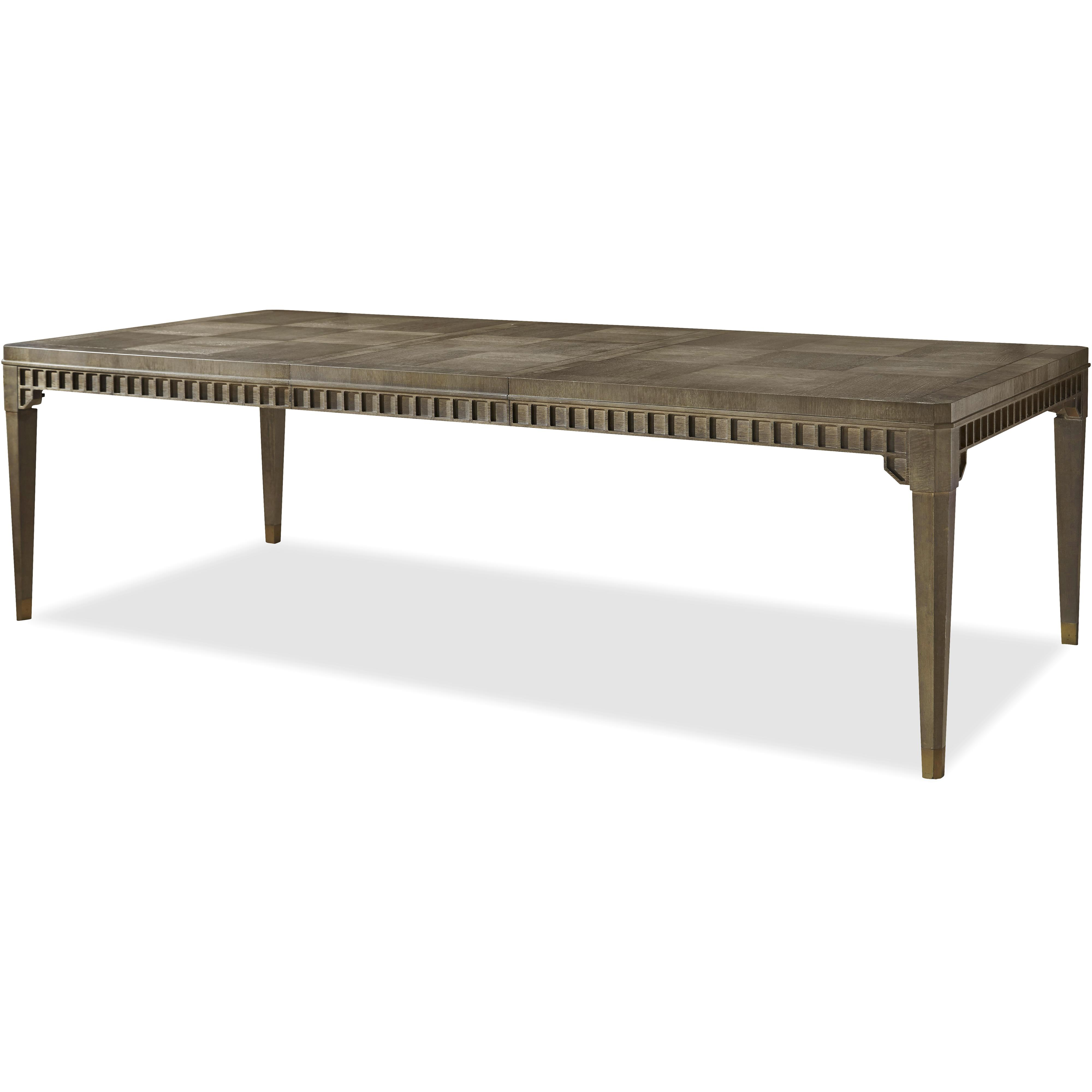 Morris Home Furnishings Platinum Platinum Dinner Table - Item Number: 507653