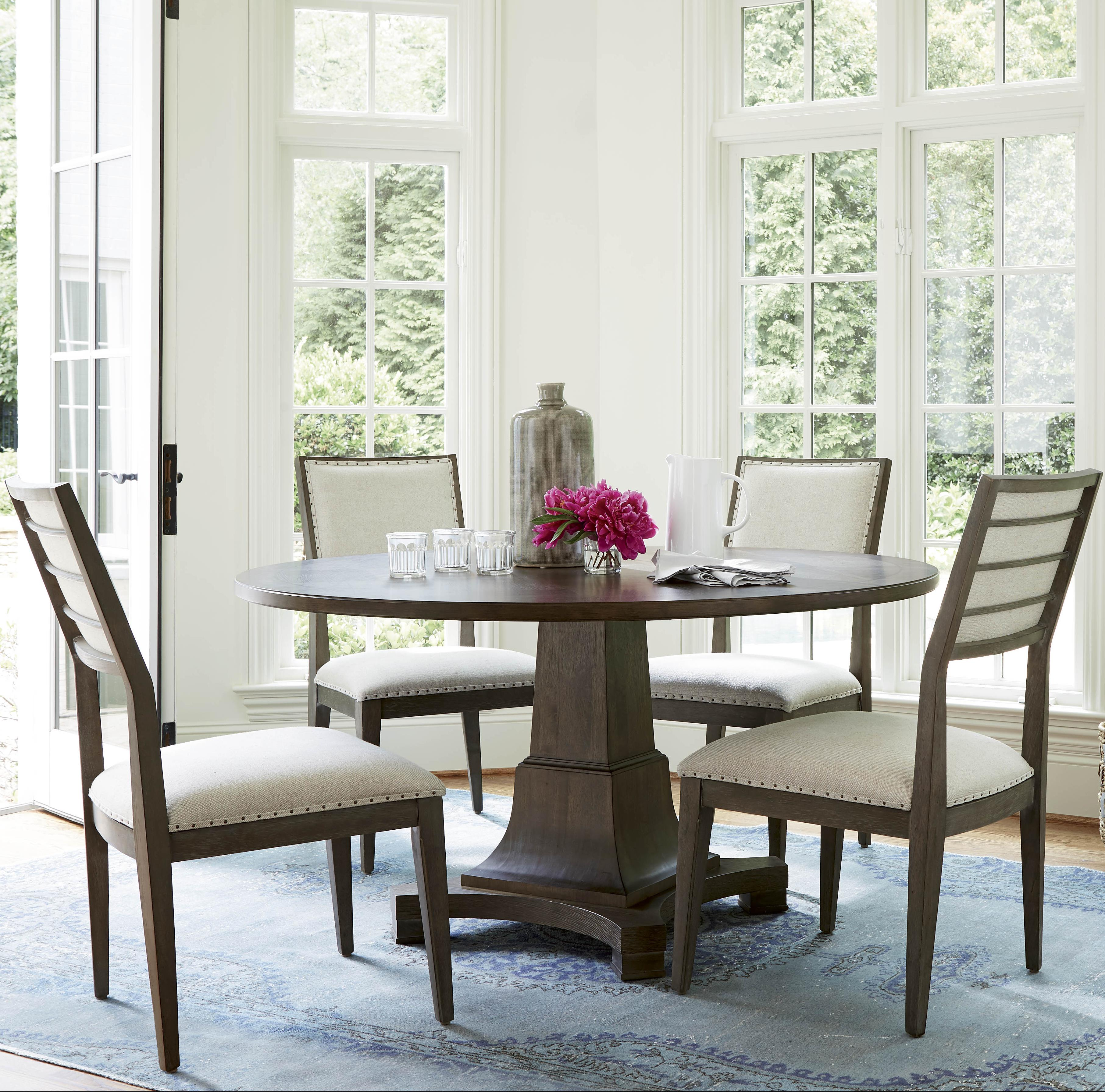 Universal Playlist 5 Piece Dining Set With Upholstered Side