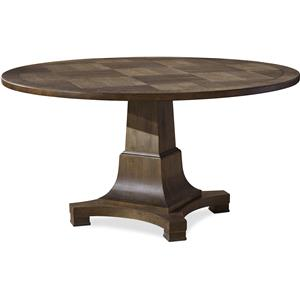 Universal Playlist Round Dining Table