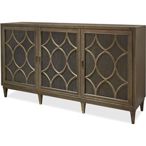 Morris Home Furnishings Platinum Platinum Sideboard