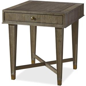 Universal Playlist Drawer End Table