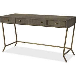 Morris Home Furnishings Platinum Platinum Writing Desk