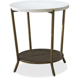 Universal Playlist Round End Table
