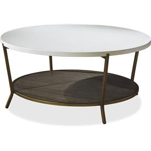Universal Playlist Round Cocktail Table