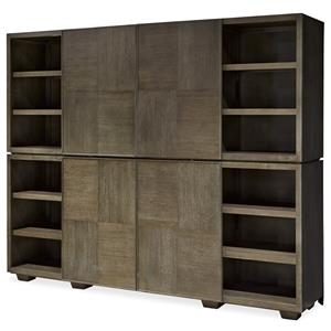 Morris Home Furnishings Platinum Stacked Media Unit