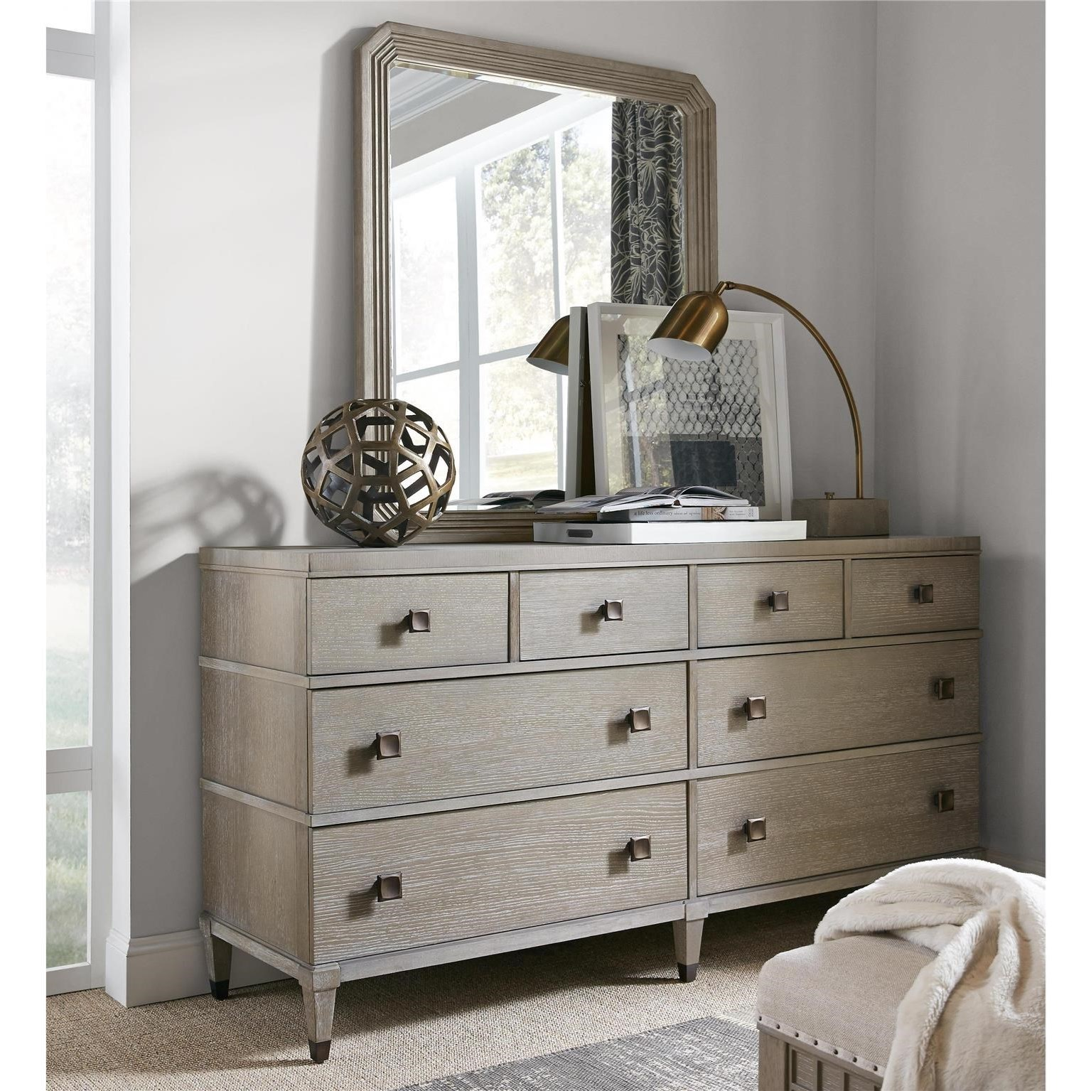 Playlist Dresser and Mirror Set by Universal at Baer's Furniture