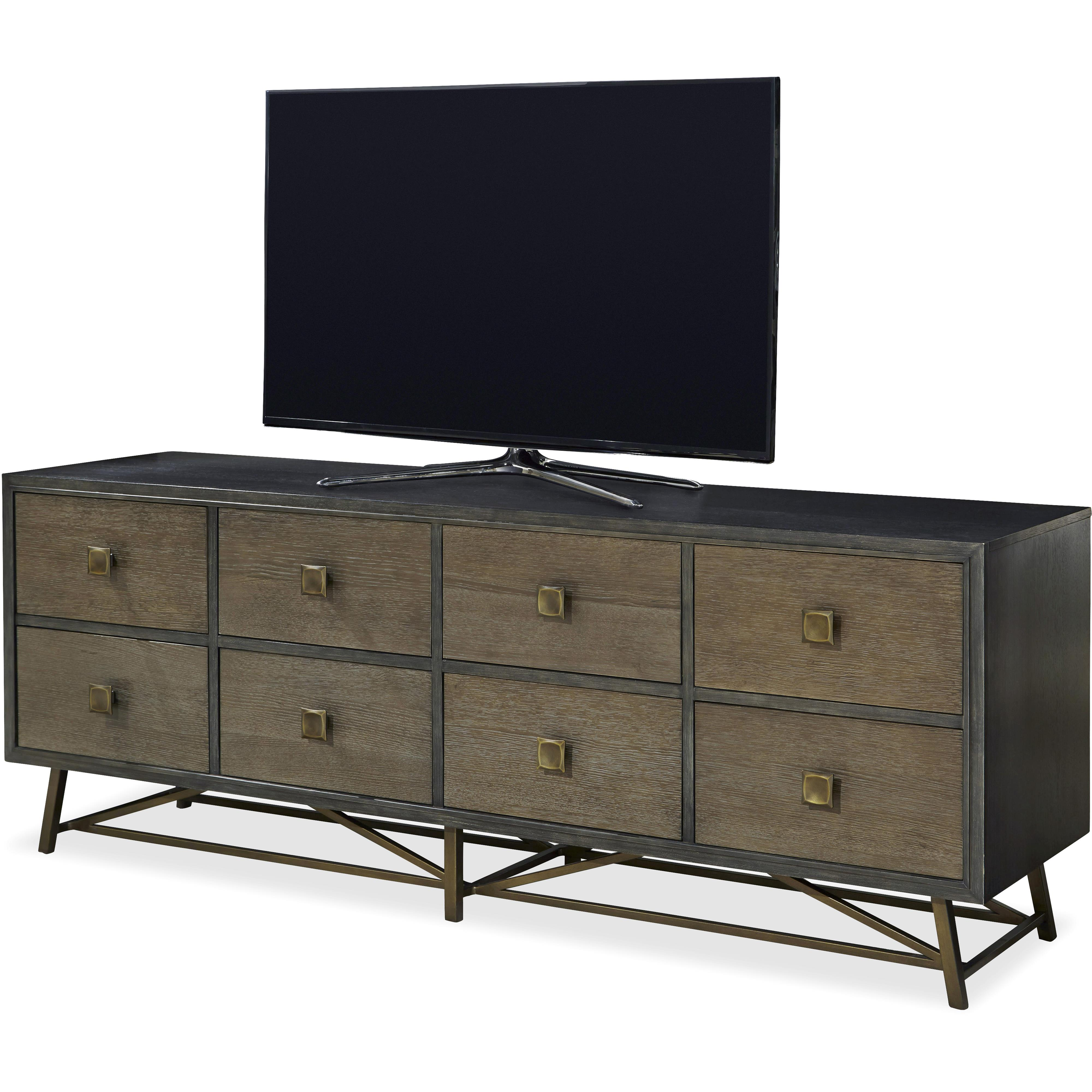 Universal Playlist Entertainment Console With Metal Base Wayside Furniture Tv Stands
