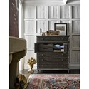 Universal Postscript Button Front Chest with 2 Doors