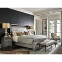 Universal Postscript Tailor's Upholstered Performance Fabric Bed Bench