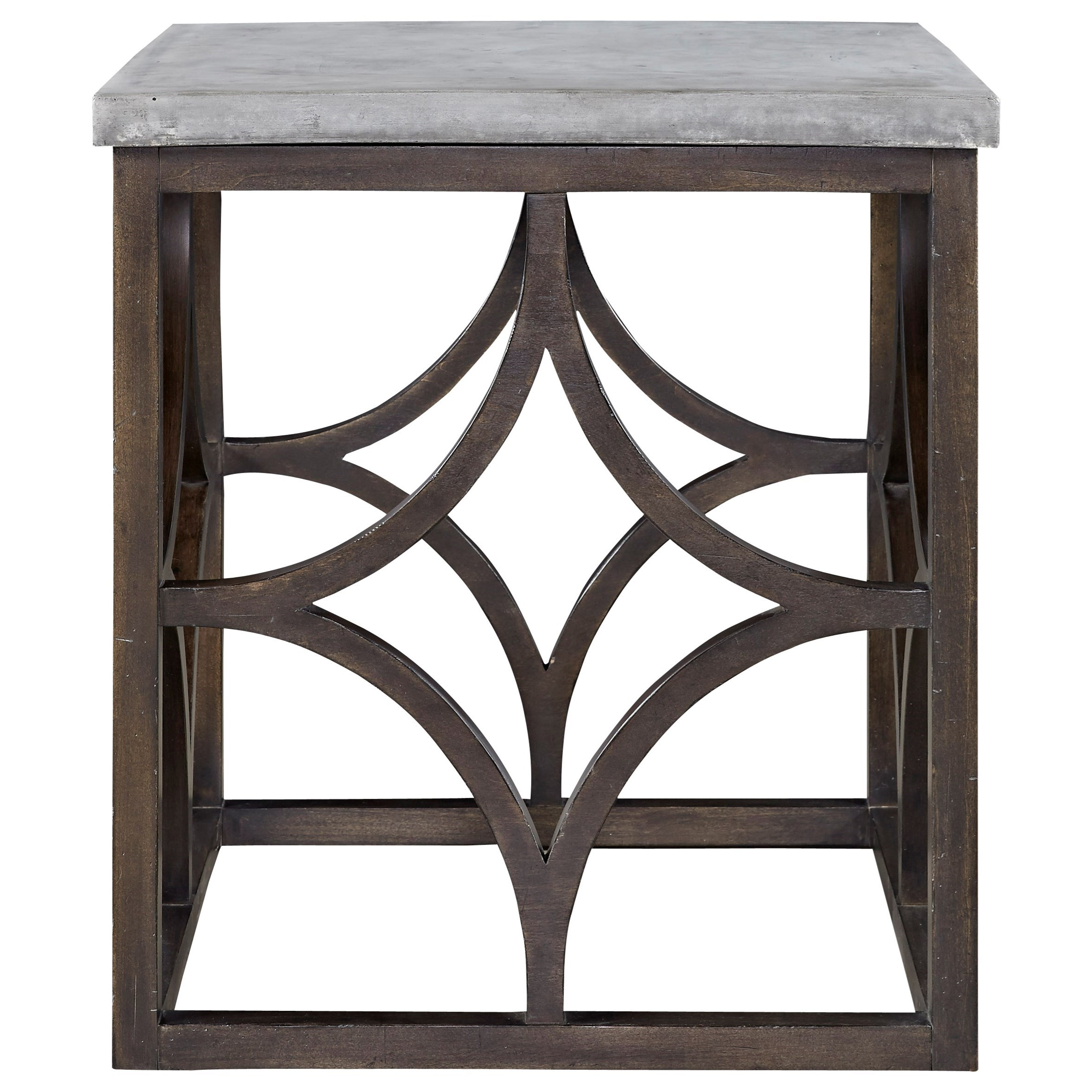 Foulard End Table