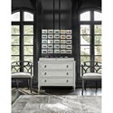 Universal Postscript Cancale Hall Chest with Keyhole Drawer