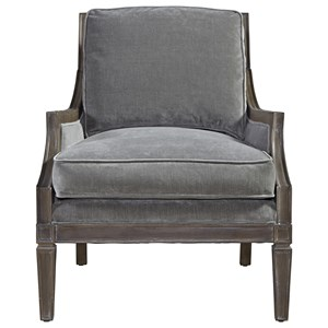 Morris Home Furnishings Prescott Crosspoint Accent Chair