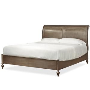 Morris Home Furnishings Providence Queen Urban Sleigh Bed