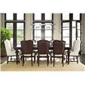Morris Home Furnishings Providence Host & Hostess Chair with Turned Legs