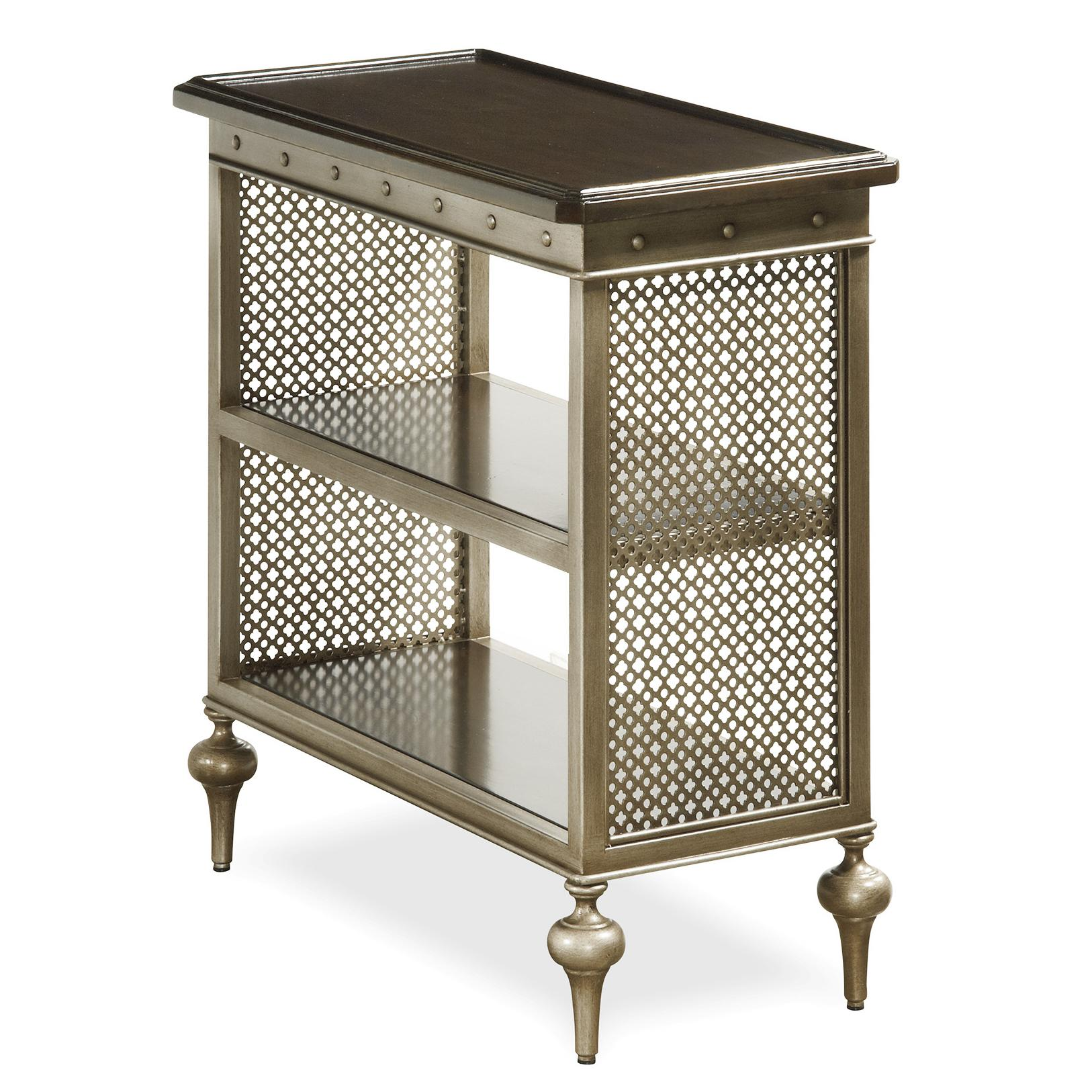 Universal proximity 356817 chair side table with metal mesh sides hudson 39 s furniture end tables - Essential accent furniture for your home ...