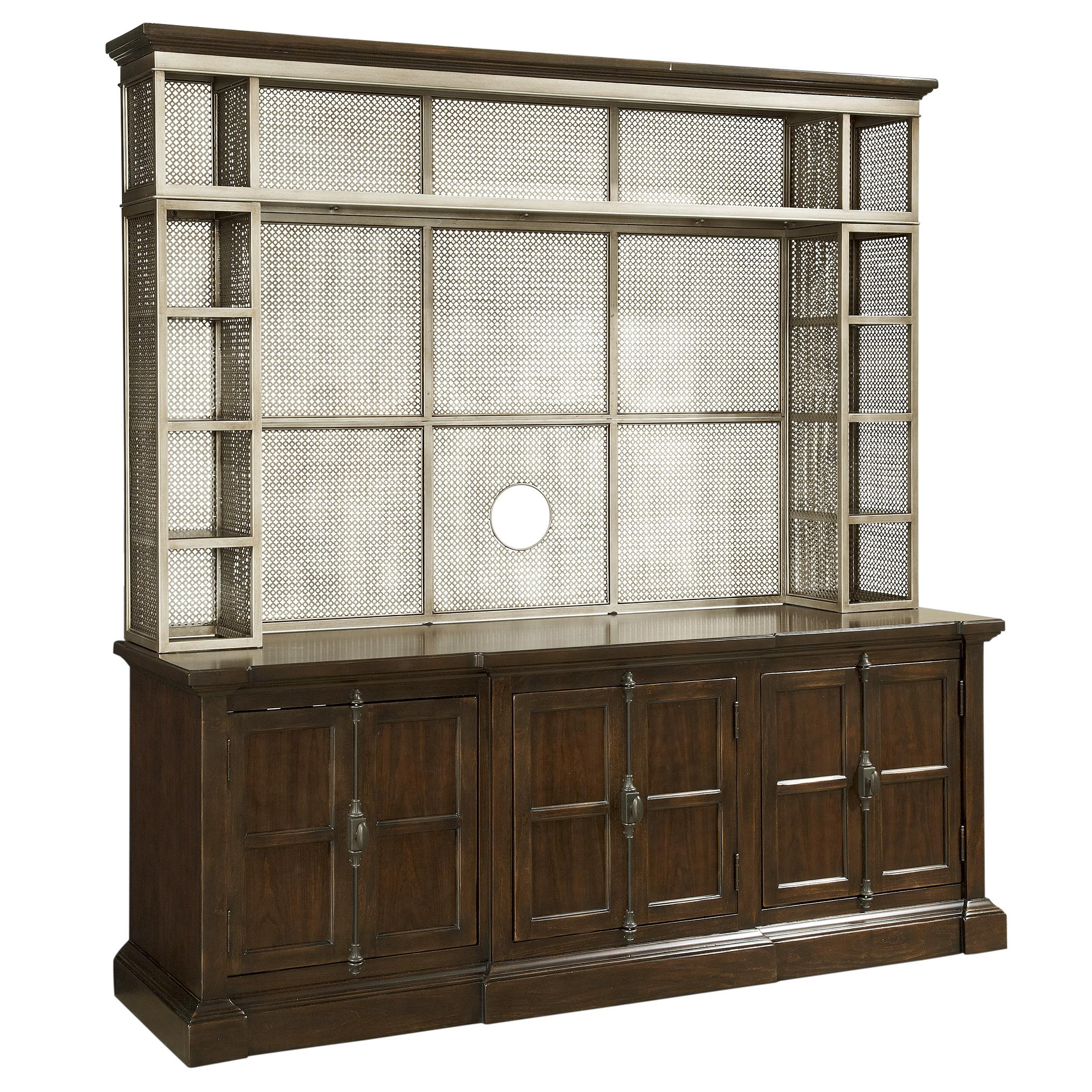 Morris Home Furnishings Providence Providence 2 Piece Console and Hutch - Item Number: 356966C