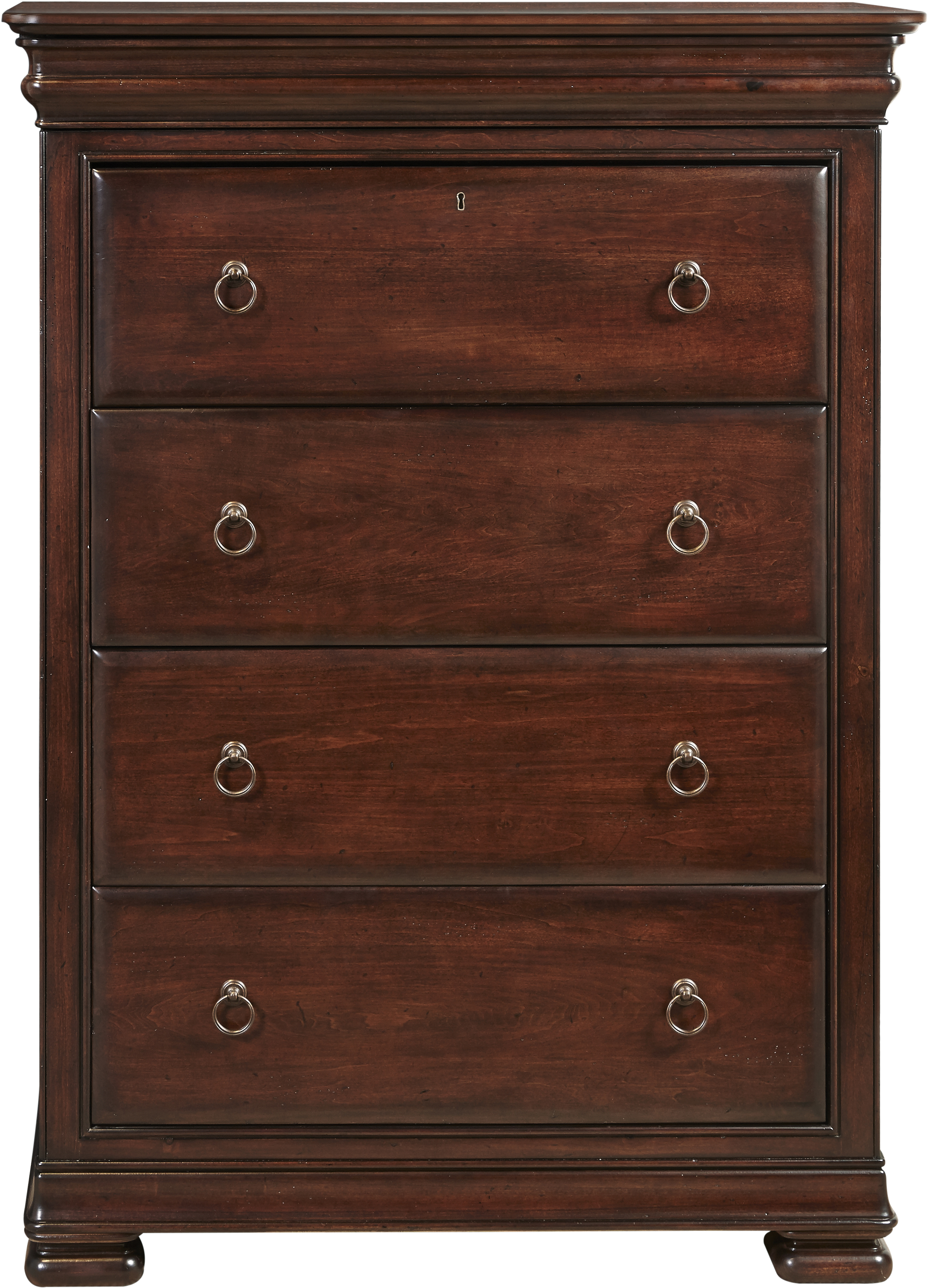 Universal Reprise 4 Drawer Chest With Ring Pull Hardware
