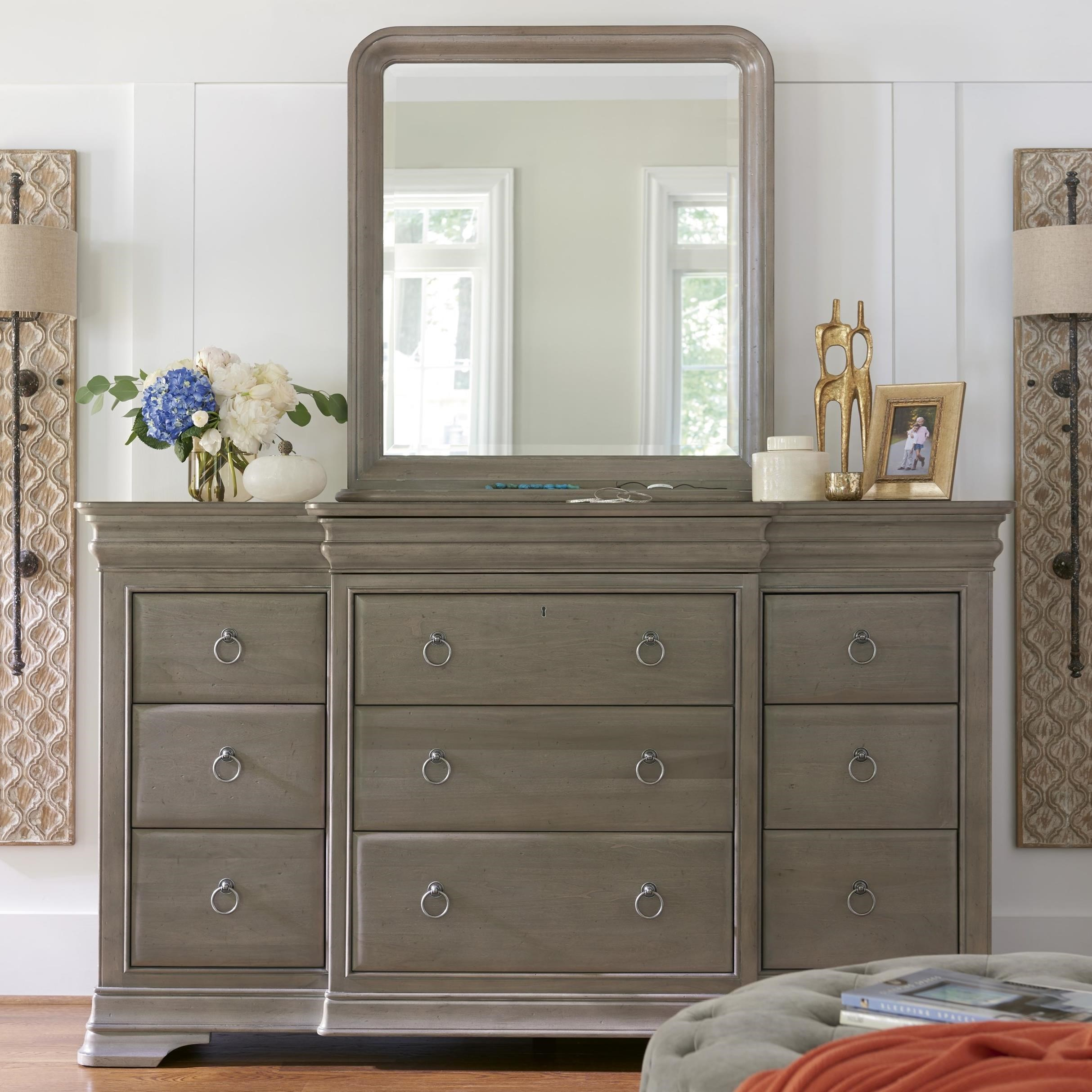 Reprise Dresser and Mirror by Universal at Baer's Furniture