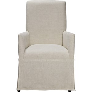 Morris Home Furnishings Sojourn Respite Upholstered Arm Chair
