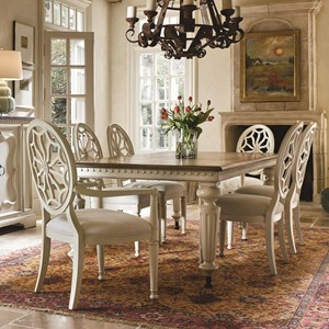 Morris Home Furnishings Sojourn 7 Piece Dining Set