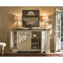 Universal Sojourn Serving Credenza with Bluestone Top