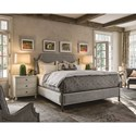 Universal Sojourn Respite King Upholstered Bed with Removable Canopy