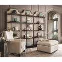Morris Home Furnishings Sojourn Fresh Air Etagere with 5 Shelves