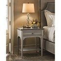 Universal Sojourn Night Table with Bluestone Top