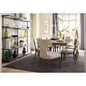 Universal Soliloquy Formal Dining Room Group - Item Number: 788 Dining Room Group 2