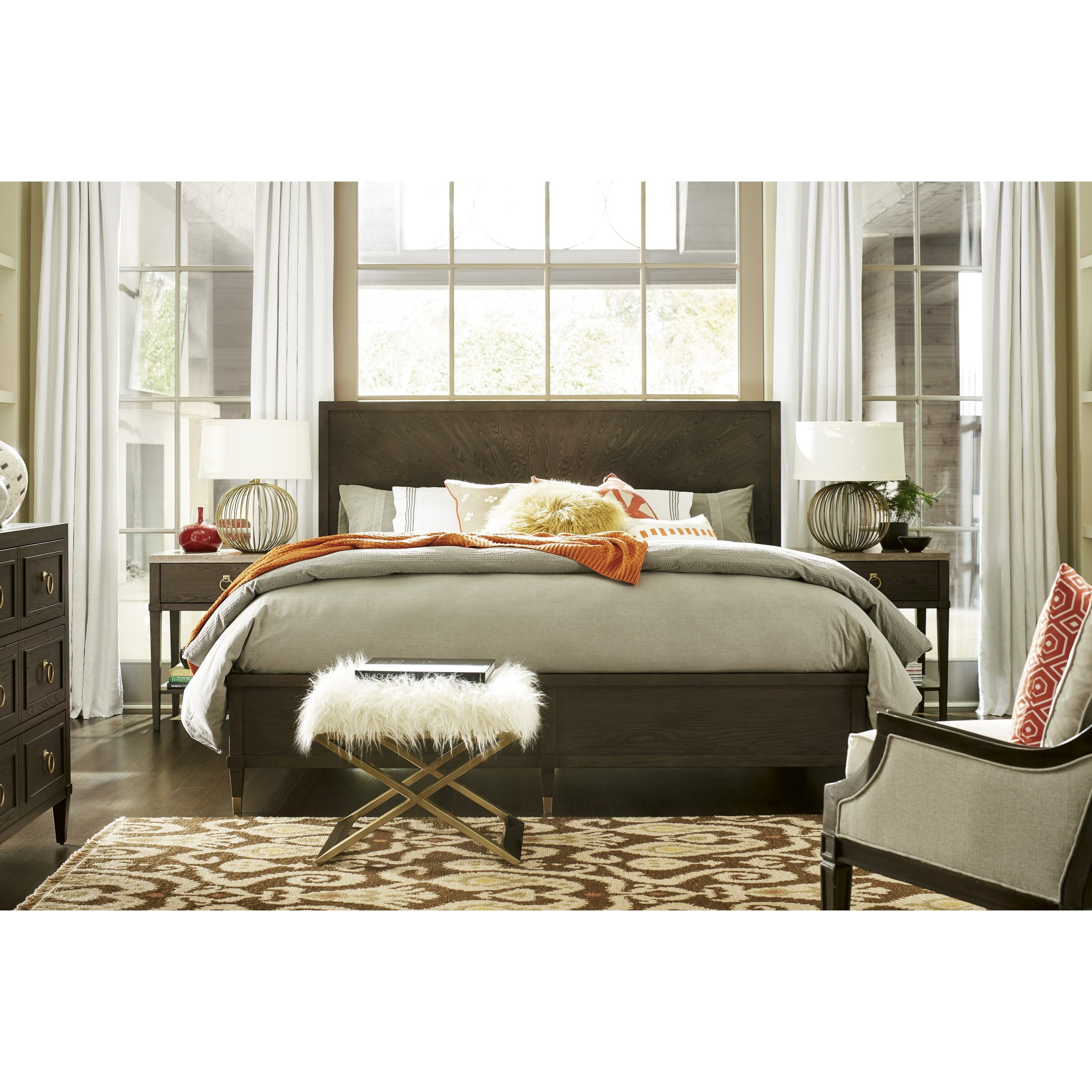 Soliloquy Queen Bedroom Group by Universal at Baer's Furniture