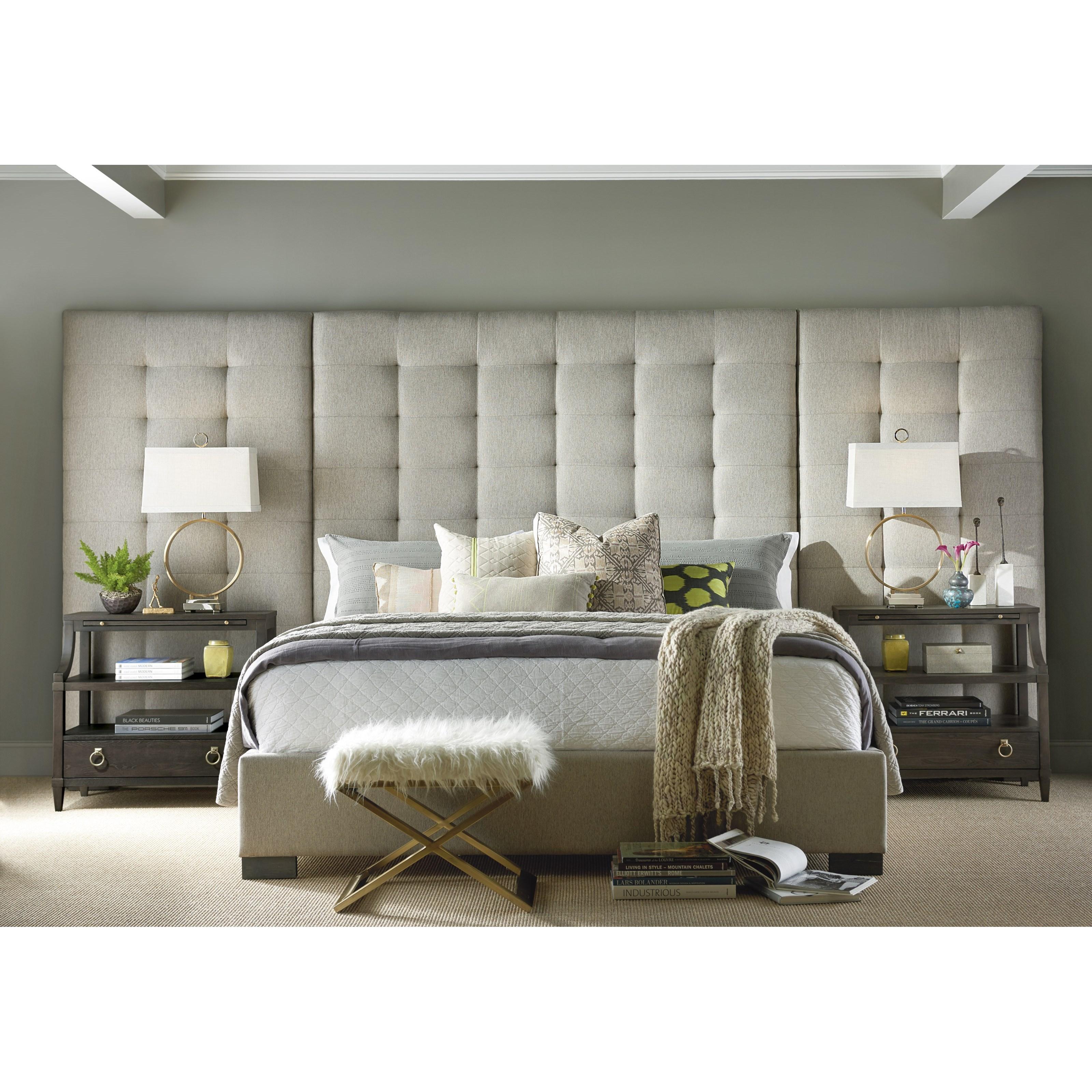 Universal Soliloquy Queen Bedroom Group - Item Number: 788 Q Bedroom Group 5
