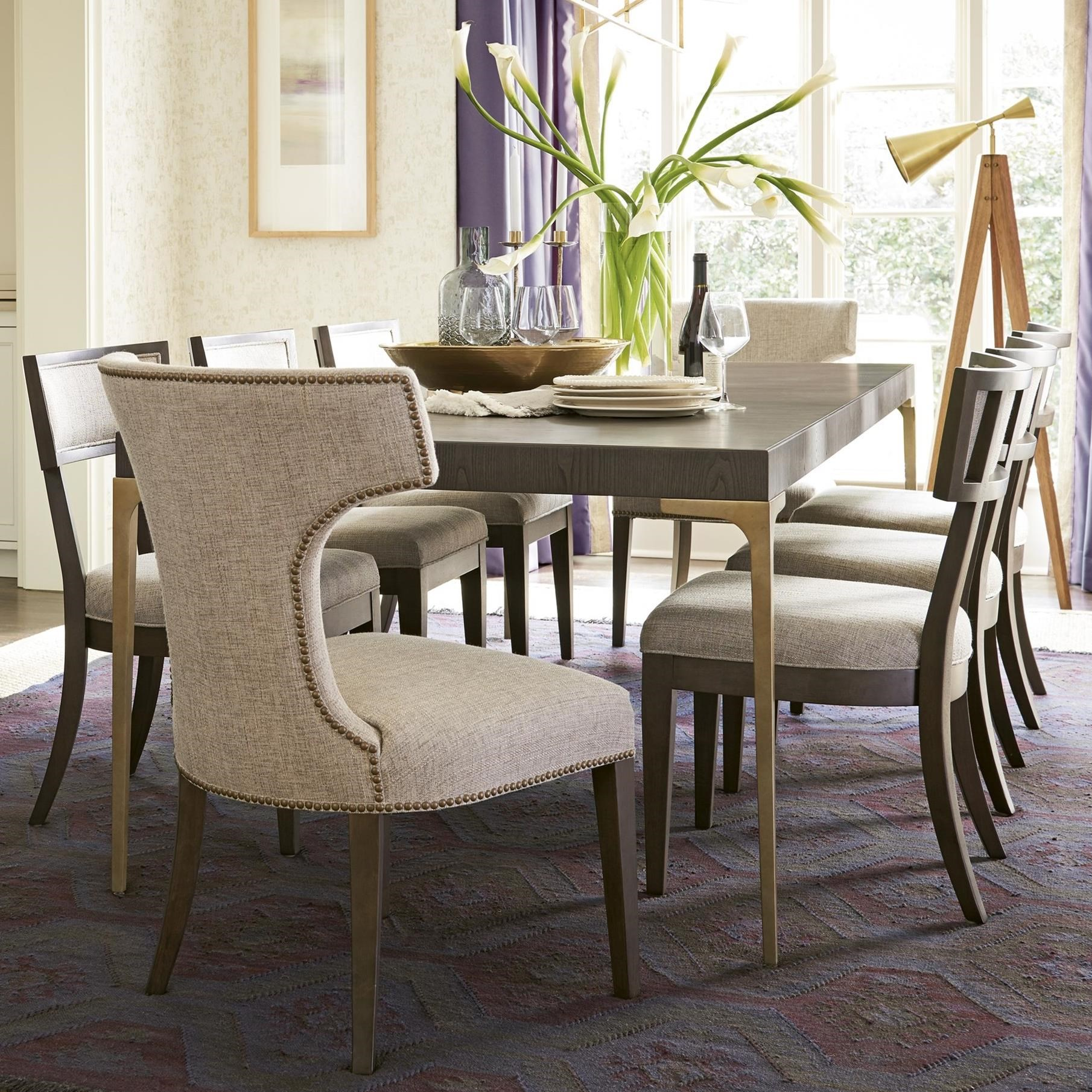 Soliloquy 9 Piece Table and Chair Set by Universal at Baer's Furniture
