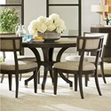 Universal Soliloquy 5 Piece Table and Chair Set - Item Number: 788657+4x636-RTA