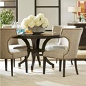 Universal Soliloquy 5 Piece Table and Chair Set - Item Number: 788657+4x638