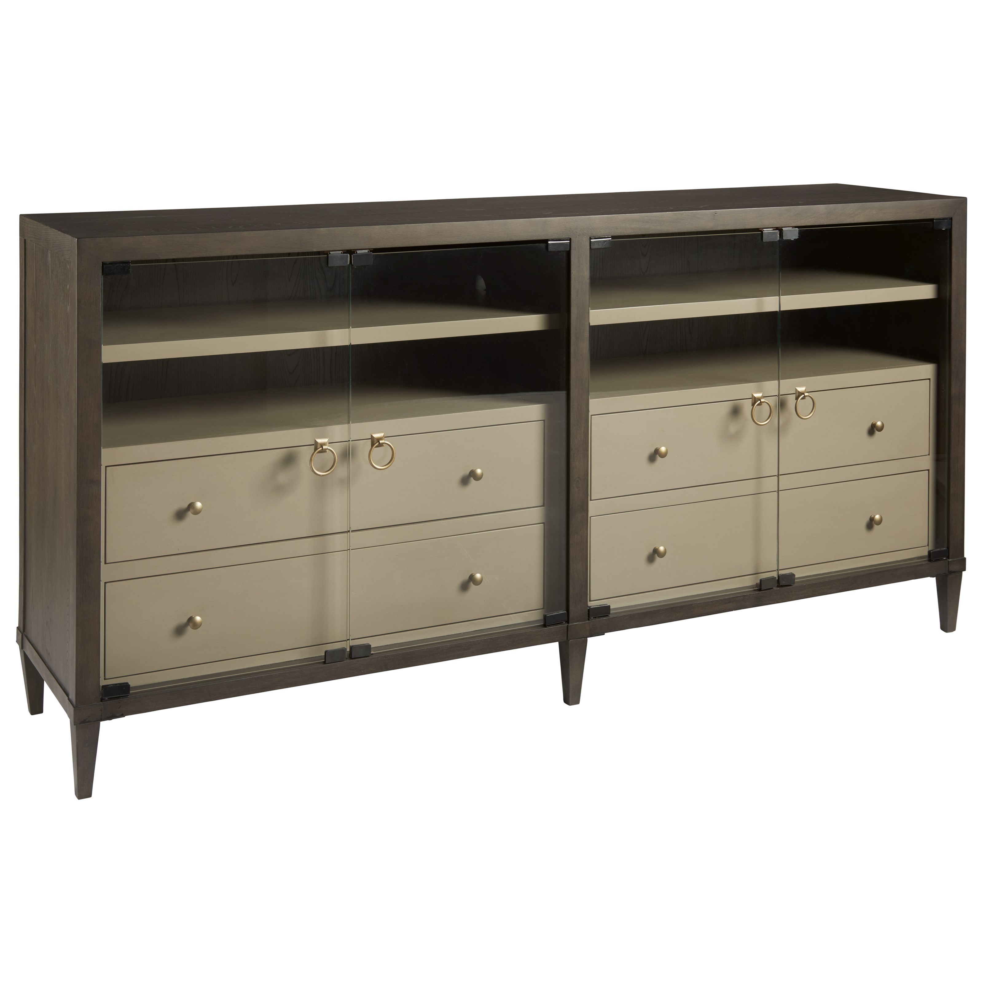 Soliloquy Entertainment Console by Universal at Baer's Furniture