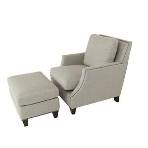 OCONNOR DESIGNS Sprintz OConnor Chair and Ottoman