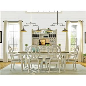 Morris Home Summer Shade Summer Shade 5-Piece Dining Set