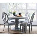 Universal Summer Hill 5 Piece Dining Set - Item Number: 986656+4x636-RTA
