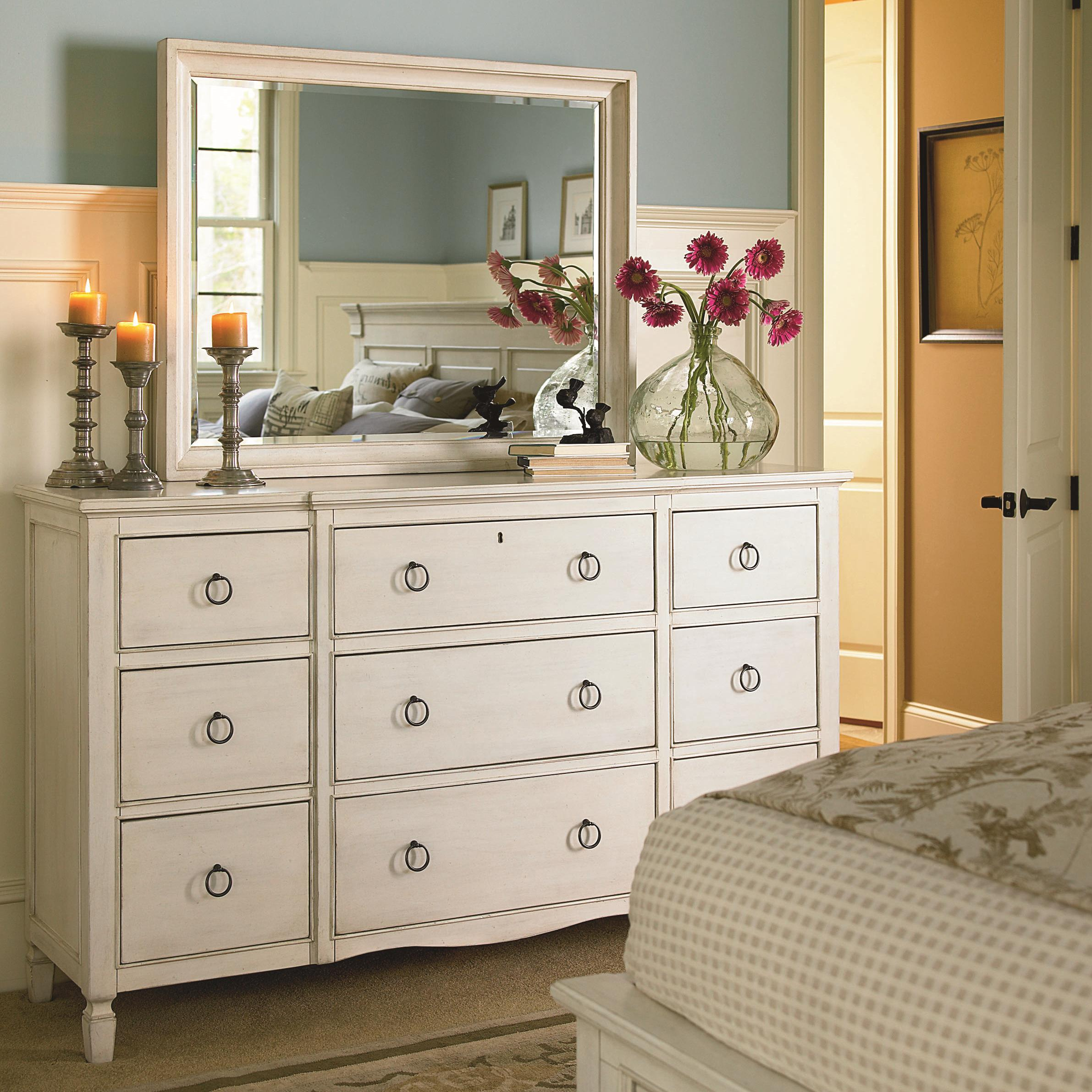 Summer Hill Dresser and Mirror Set by Universal at Baer's Furniture