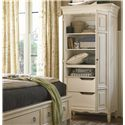 Universal Summer Hill 2 Door Tall Cabinet - 987160 - Interior View Shown