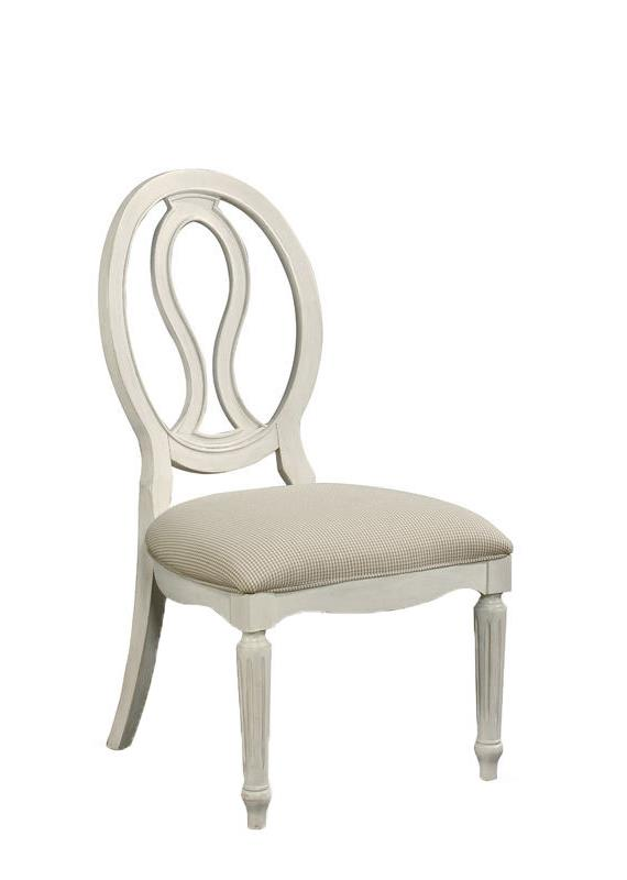 Morris Home Furnishings Summer Shade Summer shade Pierced Back Side Chair - Item Number: 987636-RTA