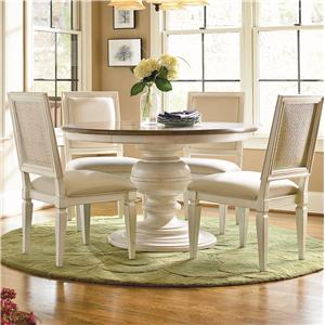 Universal Summer Hill 6 Piece Dining Table and Chair Set