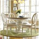 Morris Home Furnishings Summer Shade 5 Piece Dining Set - Item Number: 987656+4x636-RTA