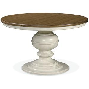 Great Rooms Summer Hill Round Pedestal Table