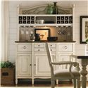 Universal Summer Hill Serving Buffet with Storage - Shown with Hutch
