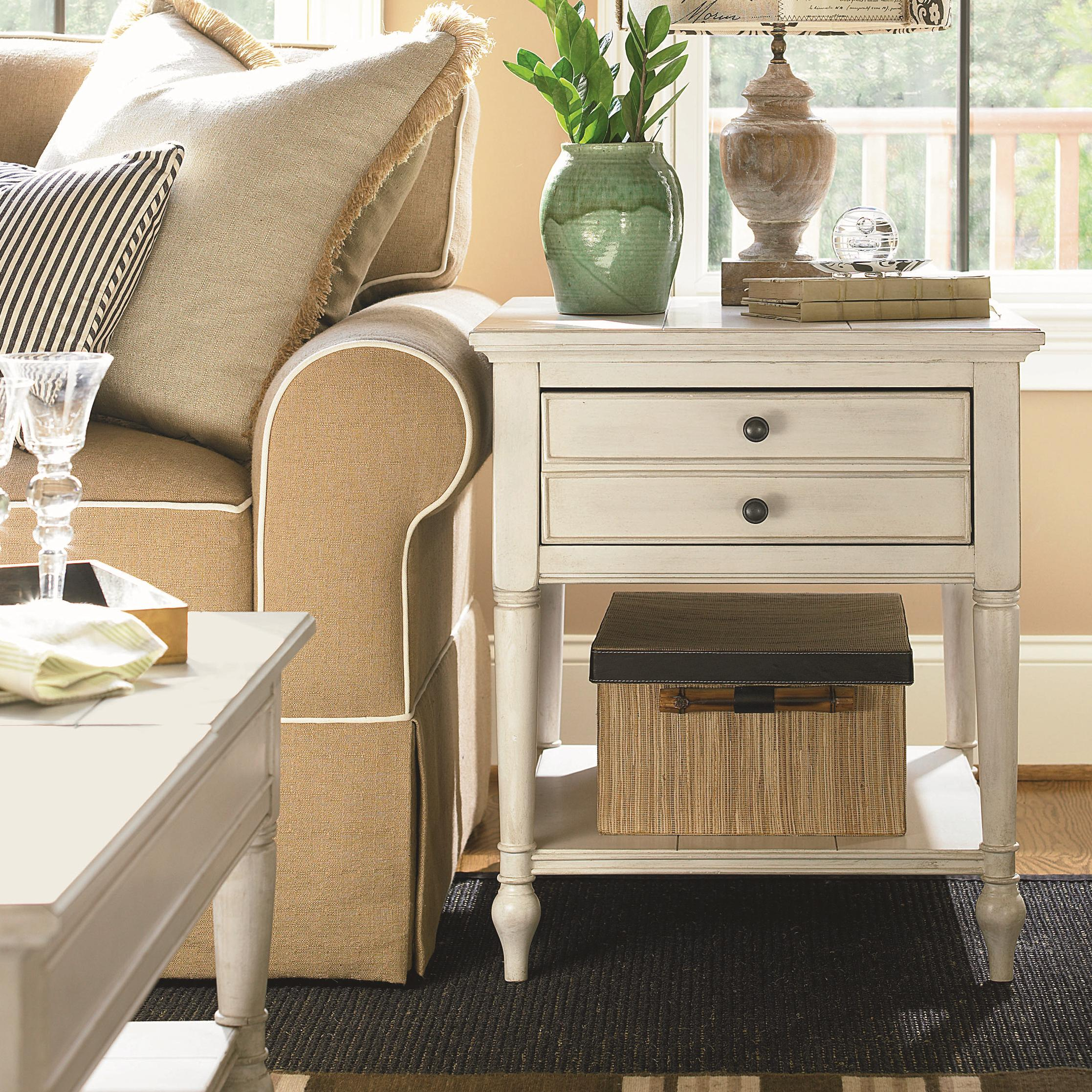 Universal Summer Hill 987805 End Table Baer S Furniture