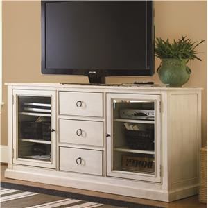 Morris Home Furnishings Summer Shade Entertainment Console