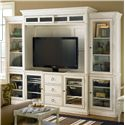 Universal Summer Hill Entertainment Wall Unit - Item Number: 987968HE