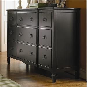 Morris Home Furnishings Summer Hill 9 Drawer Dresser